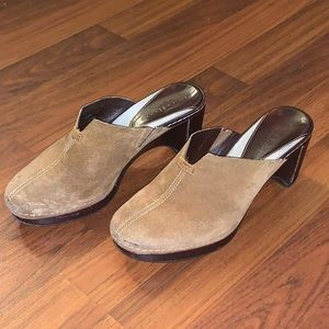 Cole Haan Suede Mules Size 6B